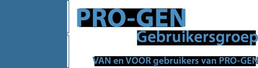 PRO-GEN Gebruikersgroep